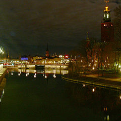 """photo """"Stockholm By Night"""""""