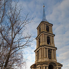 "photo ""Belltower of Venev. From a series ""Desolation"""""