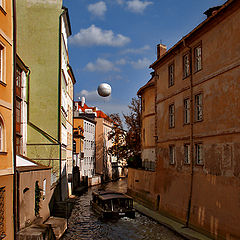 "photo ""Prague Venice and the balloon."""