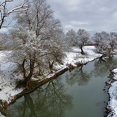 "фото ""Река Тунджа в декабре"""