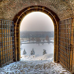 """photo """"The old gate"""""""