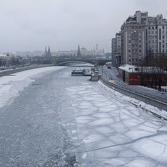 "photo ""Moscow Sunday morning"""