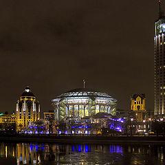 "photo ""Night walks around Moscow. House music."""