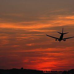 "фото ""Gute Nacht Flieger"""