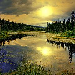 """photo """"Small Lake"""""""