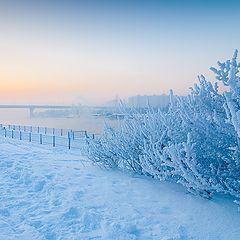 """фото """"Зима на Москва-реке"""""""