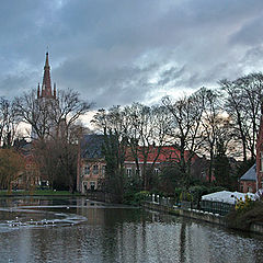 "фото ""Evening in Brugge"""