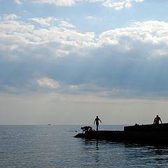 """фото """"Лето. Море. Вечер."""""""