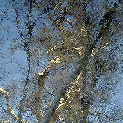 "photo ""Mirages of the winter river Churilikha - 2"""