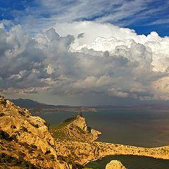 """фото """"Облака над Меганомом"""""""