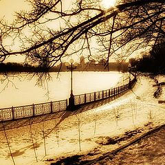 "фото ""Снег, город почти ослеп"""