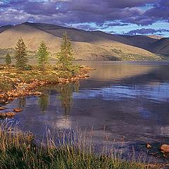 """фото """"вечер на озере Момонтай"""""""