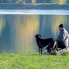 "фото ""Morning on Lake / Утро на озере"""