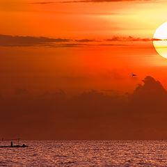 "photo ""Sunset at Bali"""