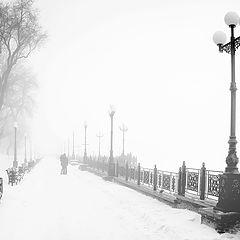 """фото """"Поцелуй в тумане"""""""
