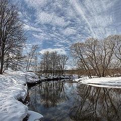 """photo """"Winter river"""""""