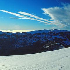 """фото """"winter mountain landscape"""""""