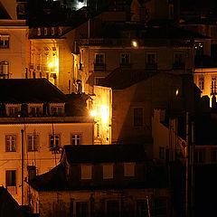 """фото """"Ночной Лиссабон"""""""
