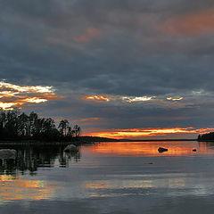 "photo ""Sunset over the White Sea ..."""