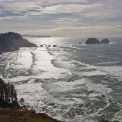 "photo ""Sunny trailes and sea steps"""