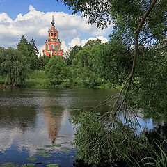 """photo """"landscape with church"""""""