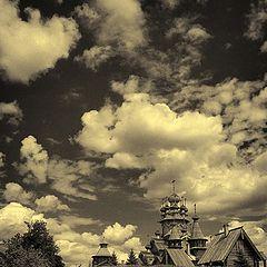 """фото """"Облака над куполами"""""""