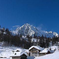 """photo """"Italian Alpes. Courmayeur"""""""