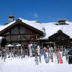 "photo ""Time for lunch. Ski parking. Shamonix"""