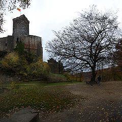 "фото ""Двое у развалин замка Рётли."""