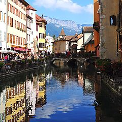 "photo ""Annecy Vertical Panoramic"""