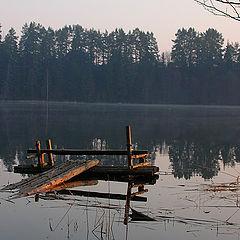 """фото """"Апрель, утро, озеро"""""""