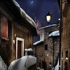 "photo ""Snowy night"""