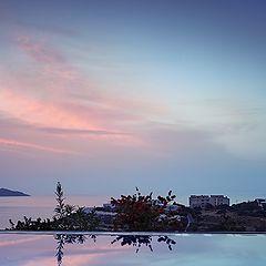 """photo """"Sunrise on Mirabello Gulf"""""""