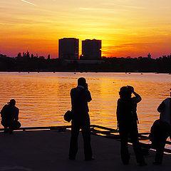 "фото ""Fascination sunset / Закат обаяния"""