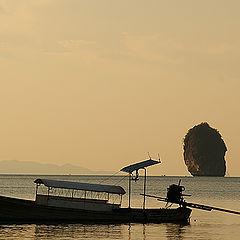 """photo """"пейзаж таиланд остров пи пи лодка"""""""