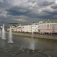 "photo ""Moscow fountains."""