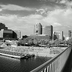 """фото """"Фотография на мосту"""""""