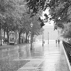"фото ""Улица.Дождь."""