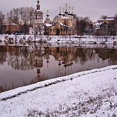 "фото ""Два берега реки Вологда"""