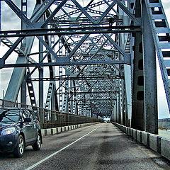"""фото """"Мост через Северную Двину"""""""