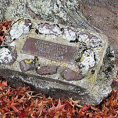 "photo ""Commeration Stone."""