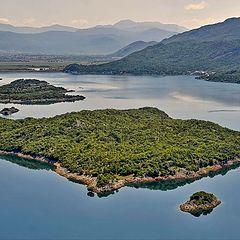 """фото """"Вечер на Сланском озере (Черногория)"""""""