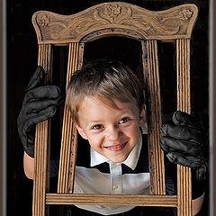 """фото """"Портрет со старым стулом"""""""