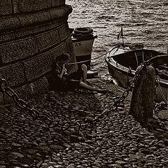 """фото """"лодочник"""""""