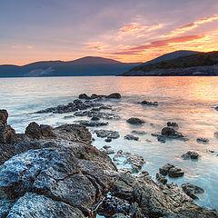 """photo """"Summer sunset"""""""