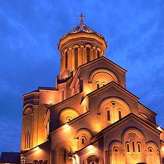 "photo ""Tbilisi Sameba Cathedral"""