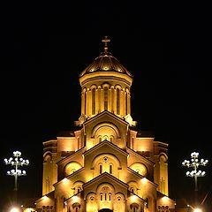 """photo """"Sameba Cathedral Tblisi Georgia"""""""