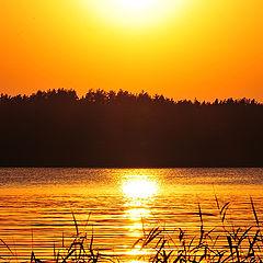 """photo """"Beutiful sunset"""""""