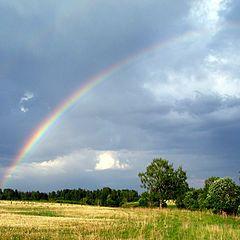 """photo """"радуга,пейзаж,лето,природа"""""""