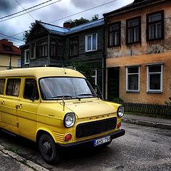 """фото """"желтый,желтый форд"""""""